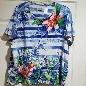 2 Alfred Dunner Shirts